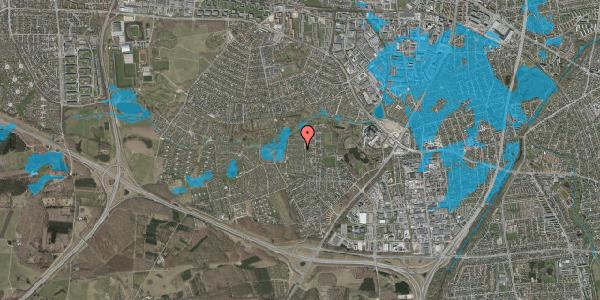Oversvømmelsesrisiko fra vandløb på Vængedalen 609, 2600 Glostrup