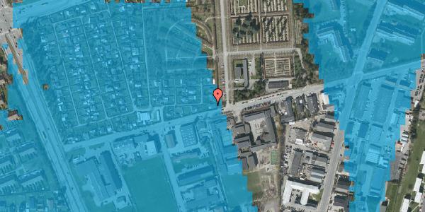 Oversvømmelsesrisiko fra vandløb på Hf. Svarø 134, 2650 Hvidovre