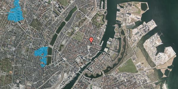 Oversvømmelsesrisiko fra vandløb på Kongens Nytorv 8B, 1050 København K