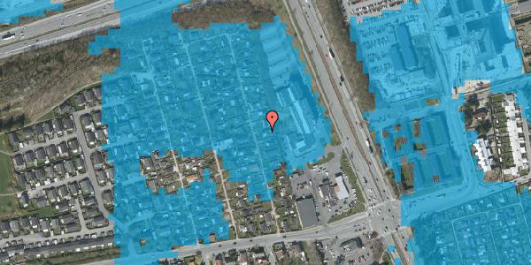 Oversvømmelsesrisiko fra vandløb på Hf. Kettehøj 119, 2650 Hvidovre