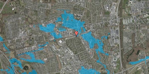 Oversvømmelsesrisiko fra vandløb på Banemarksvej 16, 2600 Glostrup