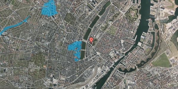 Oversvømmelsesrisiko fra vandløb på Gyldenløvesgade 15, st. , 1600 København V