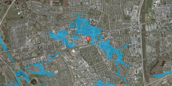 Oversvømmelsesrisiko fra vandløb på Sydvestvej 67, 2600 Glostrup
