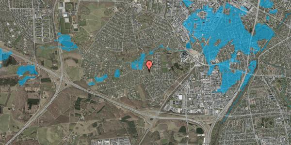 Oversvømmelsesrisiko fra vandløb på Vængedalen 323, 2600 Glostrup