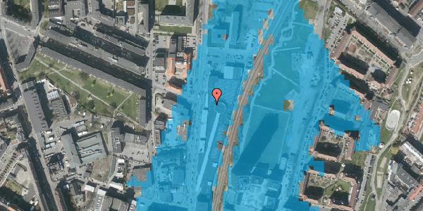 Oversvømmelsesrisiko fra vandløb på Lygten 2M, 2400 København NV