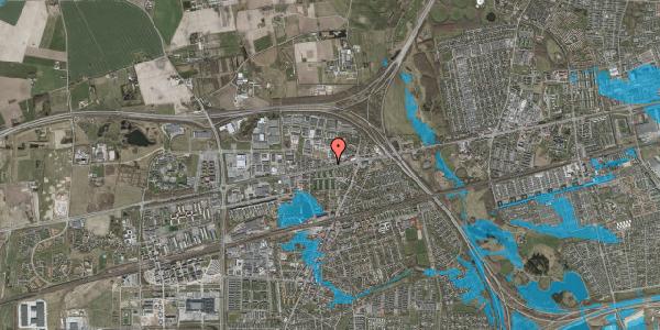Oversvømmelsesrisiko fra vandløb på Roskildevej 342K, 2630 Taastrup