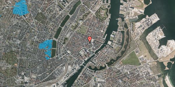 Oversvømmelsesrisiko fra vandløb på Lille Kongensgade 32, st. , 1074 København K