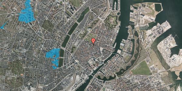 Oversvømmelsesrisiko fra vandløb på Vognmagergade 7, 3. tv, 1120 København K