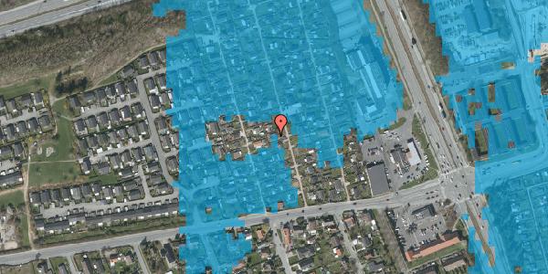 Oversvømmelsesrisiko fra vandløb på Hf. Kettehøj 55, 2650 Hvidovre