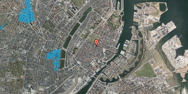 Oversvømmelsesrisiko fra vandløb på Møntergade 5, 2. , 1116 København K