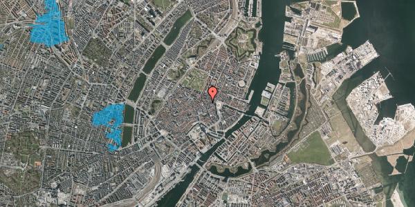 Oversvømmelsesrisiko fra vandløb på Grønnegade 14, 3. , 1107 København K