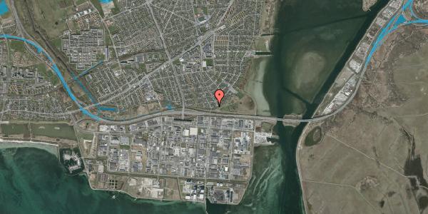 Oversvømmelsesrisiko fra vandløb på Strandholms Alle 55B, 2650 Hvidovre
