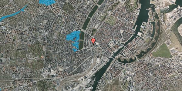 Oversvømmelsesrisiko fra vandløb på Axeltorv 3, 2. , 1609 København V