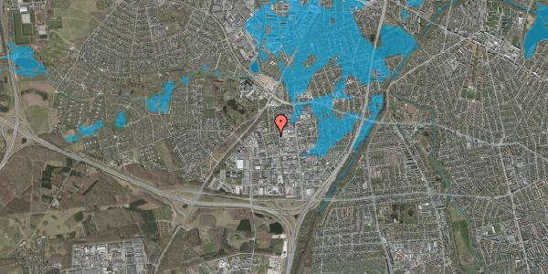Oversvømmelsesrisiko fra vandløb på Ydergrænsen 50, 2600 Glostrup