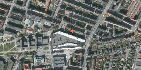 Oversvømmelsesrisiko fra vandløb på Solbjerg Plads 4A, 2000 Frederiksberg