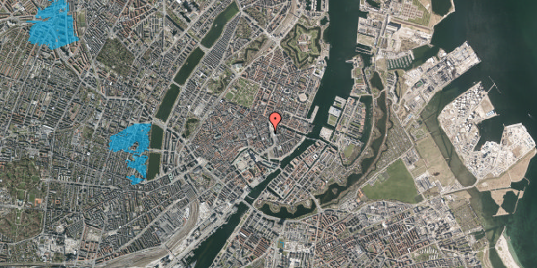 Oversvømmelsesrisiko fra vandløb på Kongens Nytorv 15, st. tv, 1050 København K