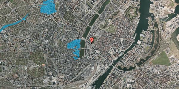 Oversvømmelsesrisiko fra vandløb på Vester Farimagsgade 41, 1. th, 1606 København V