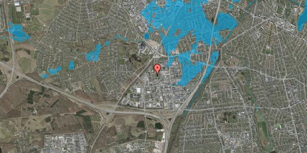 Oversvømmelsesrisiko fra vandløb på Ejbyholm 48, 2600 Glostrup