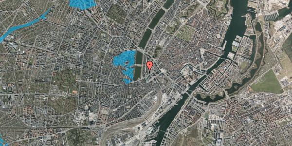 Oversvømmelsesrisiko fra vandløb på Herholdtsgade 1, 1605 København V
