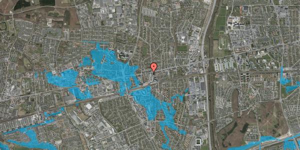 Oversvømmelsesrisiko fra vandløb på Glostrup Shoppingcenter 56, st. , 2600 Glostrup