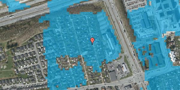 Oversvømmelsesrisiko fra vandløb på Hf. Kettehøj 98, 2650 Hvidovre
