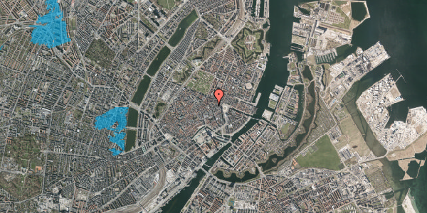 Oversvømmelsesrisiko fra vandløb på Grønnegade 14, 2. , 1107 København K