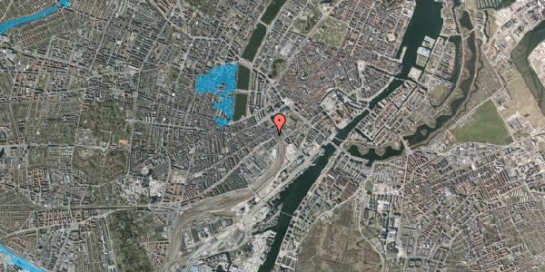 Oversvømmelsesrisiko fra vandløb på Reventlowsgade 9, 1651 København V