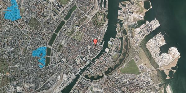 Oversvømmelsesrisiko fra vandløb på Nyhavn 11B, 3. 2, 1051 København K