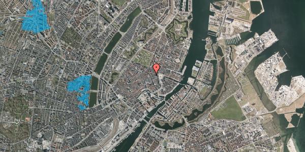 Oversvømmelsesrisiko fra vandløb på Pistolstræde 10A, 1. , 1102 København K