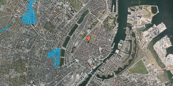 Oversvømmelsesrisiko fra vandløb på Åbenrå 28, 2. th, 1124 København K