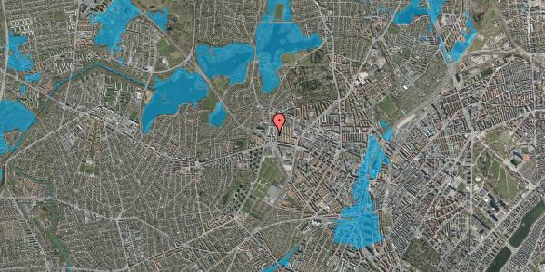 Oversvømmelsesrisiko fra vandløb på Gemmet 12, 2400 København NV
