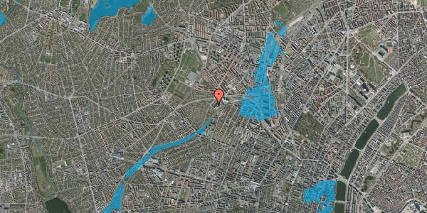 Oversvømmelsesrisiko fra vandløb på Jordbærvej 137, st. , 2400 København NV
