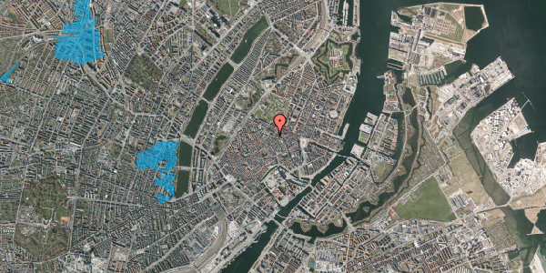 Oversvømmelsesrisiko fra vandløb på Møntergade 3, 1. , 1116 København K