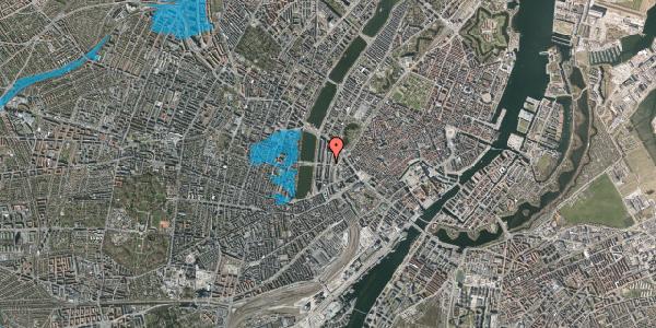 Oversvømmelsesrisiko fra vandløb på Kampmannsgade 2, 3. , 1604 København V