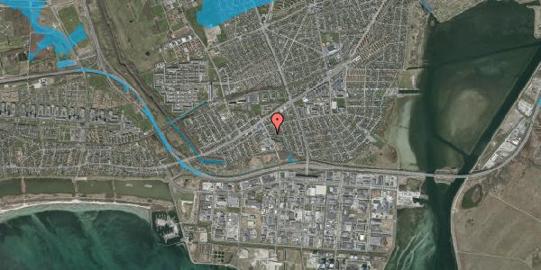 Oversvømmelsesrisiko fra vandløb på Batterivej 1, 2650 Hvidovre