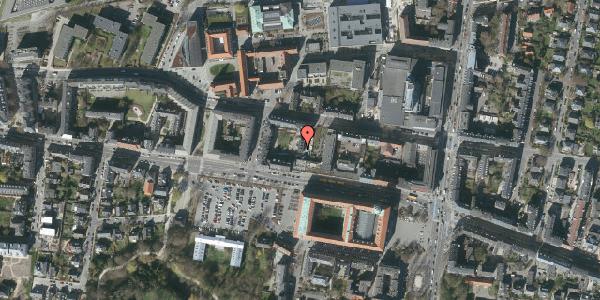 Oversvømmelsesrisiko fra vandløb på Howitzvej 21B, 2000 Frederiksberg