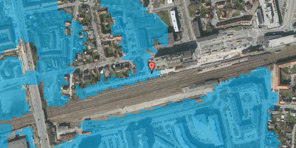 Oversvømmelsesrisiko fra vandløb på Sydvestvej 23A, 2600 Glostrup