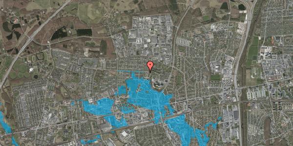 Oversvømmelsesrisiko fra vandløb på Haveforeningen Hersted 13, 2600 Glostrup