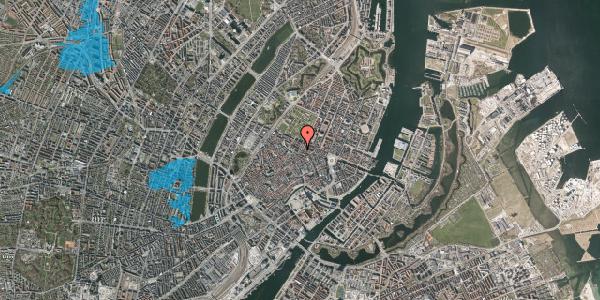Oversvømmelsesrisiko fra vandløb på Vognmagergade 5, 4. th, 1120 København K