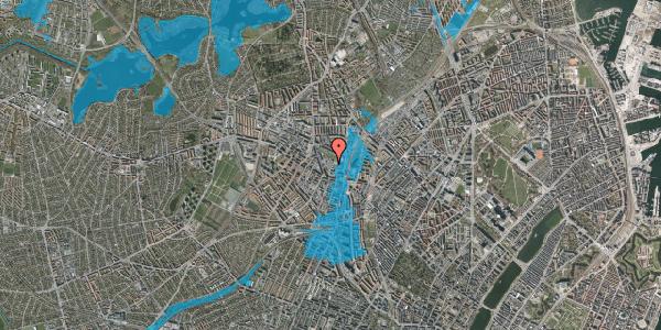 Oversvømmelsesrisiko fra vandløb på Drejervej 8D, 2400 København NV