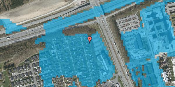 Oversvømmelsesrisiko fra vandløb på Hf. Kettehøj 111, 2650 Hvidovre
