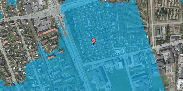Oversvømmelsesrisiko fra vandløb på Hf. Svarø 20, 2650 Hvidovre