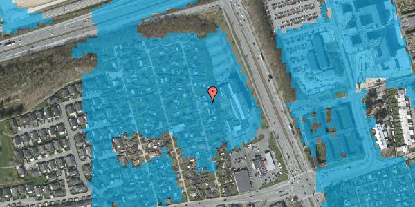Oversvømmelsesrisiko fra vandløb på Hf. Kettehøj 117, 2650 Hvidovre