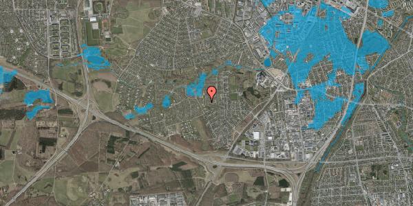 Oversvømmelsesrisiko fra vandløb på Vængedalen 226, 2600 Glostrup