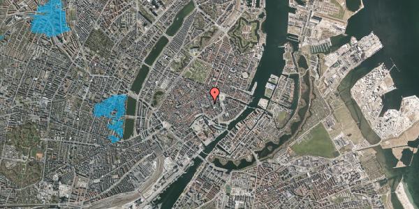 Oversvømmelsesrisiko fra vandløb på Nikolaj Plads 3, 1. , 1067 København K