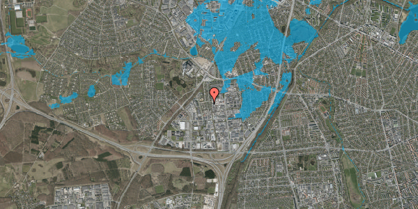 Oversvømmelsesrisiko fra vandløb på Ydergrænsen 36, 2600 Glostrup