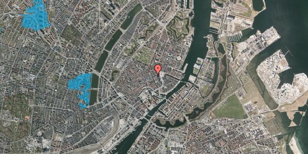 Oversvømmelsesrisiko fra vandløb på Østergade 26C, 2. , 1100 København K
