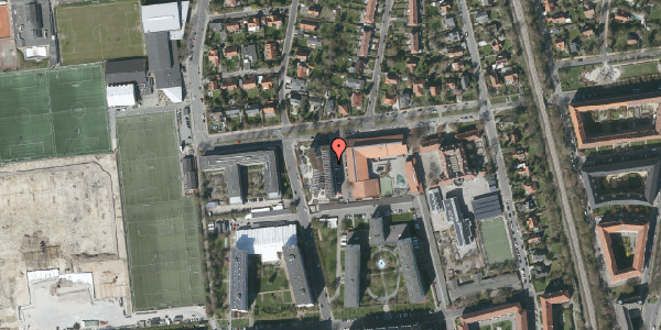 Oversvømmelsesrisiko fra vandløb på Troels-Lunds Vej 25, 2. 6, 2000 Frederiksberg
