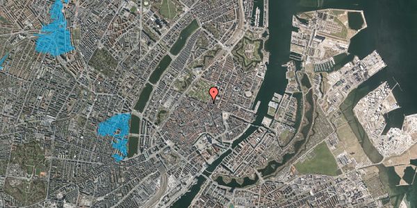 Oversvømmelsesrisiko fra vandløb på Gothersgade 58, 2. tv, 1123 København K