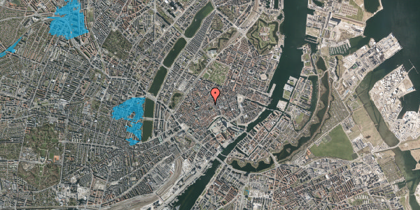 Oversvømmelsesrisiko fra vandløb på Niels Hemmingsens Gade 9, 4. , 1153 København K